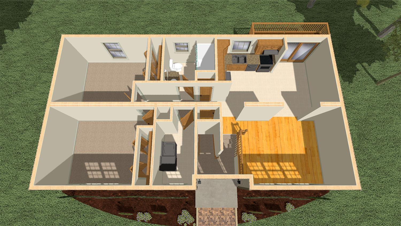 100 Cape Cod Modular Floor Plans